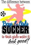Girls Make Soccer Look Good