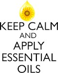 Keep Calm and Apply Essential Oils