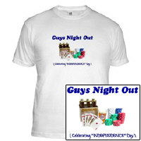 4th of July - Guys Night Out - Independence Day