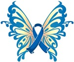 Colon Cancer Butterfly
