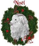 Angora Goat Noel  Christmas
