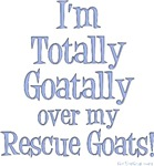 Totally Goatally Rescue Goat