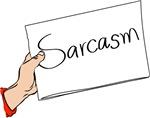 Big Bang Theory Sarcasm Sign