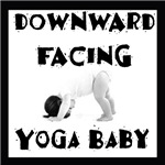 Downward Facing Yoga Baby