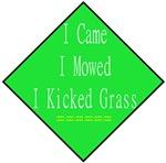 I Kicked Grass