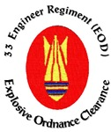 Royal Engineers, EOD/Bomb Disposal Logo 2