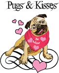 Pugs & Kisses Valentine