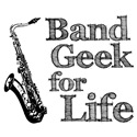 Saxophone Band Geek