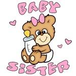 Cute Bear Baby Sister