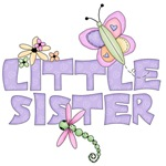 Cute Bugs Little Sister