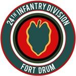 24th Infantry post