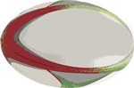 Rugby Ball Football League Try Scrum World Cup