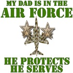 Air Force Dad Protects And Serves