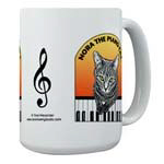 MUGS & Water Bottles - NORA THE PIANO CAT™