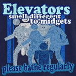 Midgets and Elevators T-Shirt