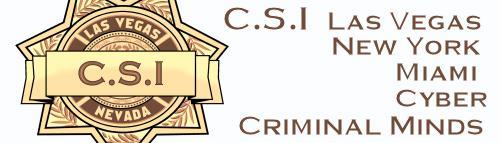CSI and CRIMINAL MINDS