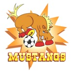MUSTANGS SOCCER TEAM T-SHIRTS AND GIFTS