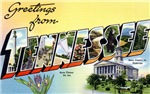 Greetings from Tennessee T-shirt Tshirts & Gifts