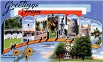 Greetings from Maryland T-shirt Tshirts & Gifts