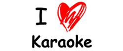 I Love Karaoke Design