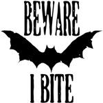 Beware I Bite (black)