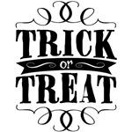 Trick or Treat - elegant black