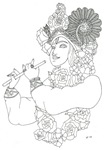 Krishna: Color Your Own