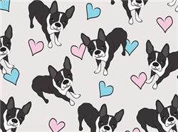 Boston Terriers Pattern
