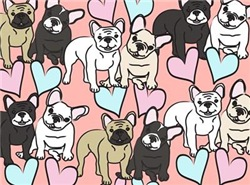 French Bulldogs Pattern