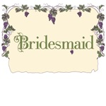 Bridesmaid Vineyard T-Shirts
