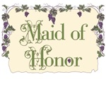 Maid of Honor Vineyard T-Shirts