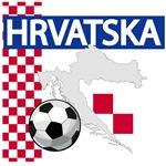 Hrvatska Soccer T-Shirts