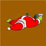 Partied Out Santa