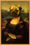Mona Lisa Pug