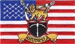 U.S.A. Rhodesia Flag