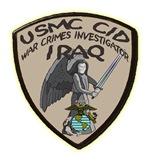 USMC CID Investigator Iraq
