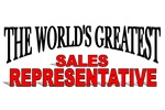 The World's Greatest Sales Representative