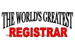 The World's Greatest Registrar