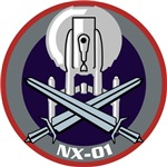 Enterprise NX-01 Crossed Swords