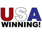 USA - WINNING!