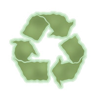 Recycle -Wavy