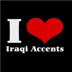 i love heart iraqi accents