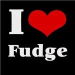 i love (heart) fudge