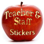 Teacher & Staff Appreciation Stickers