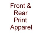 Karate Chest Print and Specialty T-Shirts