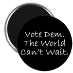 Vote Dem - The World Can't Wait