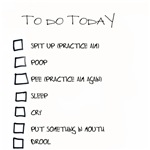 Baby's To Do List