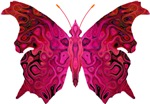 Marbled-Wing B-fly Red & Pink