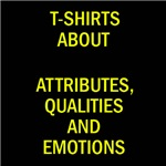 Attributes, qualities and emotions