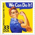 Rosie the Riveter Stamp